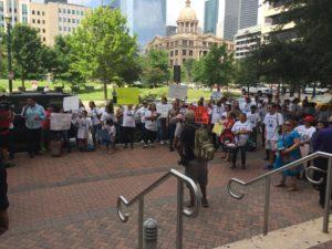John Hernandez Protest Rally